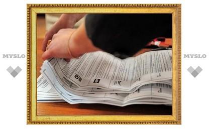Известны результаты выборов в Тульской области