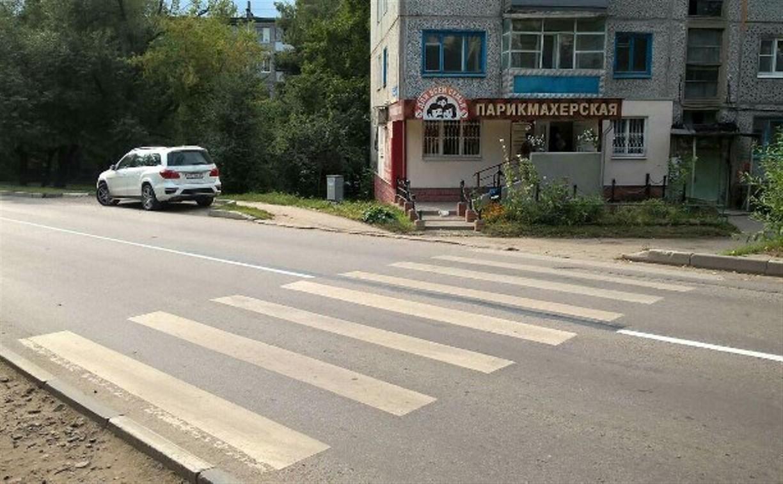 Спорная «сплошная» по улице Гастелло в Туле: в разметку внесут изменения