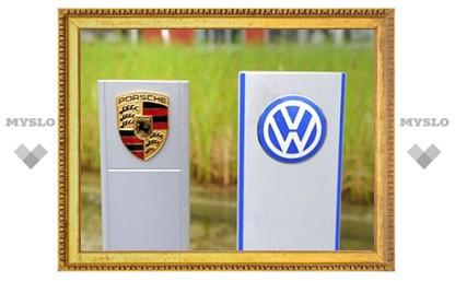 Porsche согласилась войти в состав VW за восемь миллиардов евро