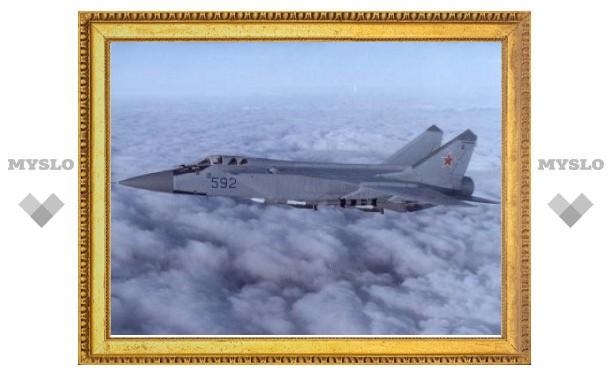ВВС России возобновили полеты МиГ-31