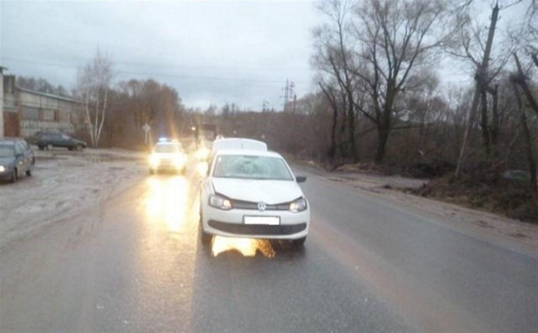 В Барсуках водитель Volkswagen Polo сбил двух пешеходов