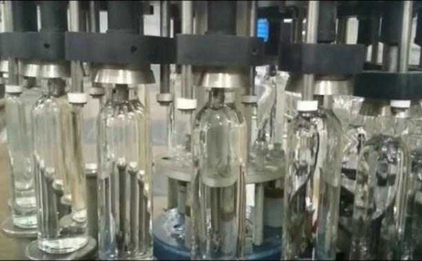 В Щёкинском районе изготавливали поддельную водку