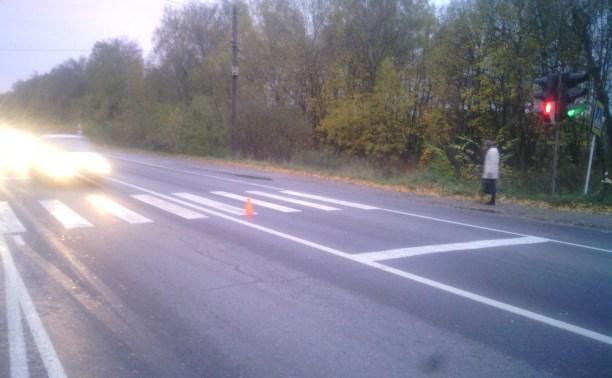 В авариях в Тульской области пострадали пешеходы