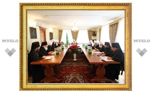 В Киево-Печерской лавре проходит заседание Священного Синода Русской Православной Церкви