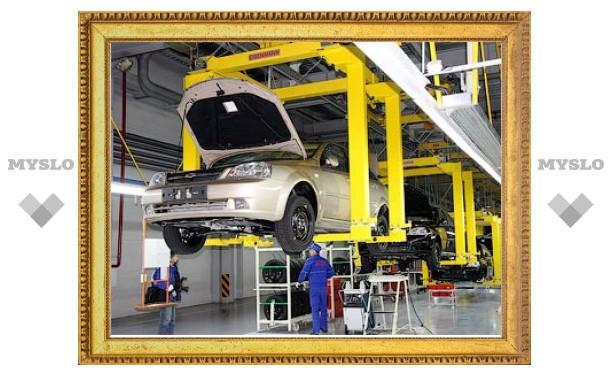 В январе производство автомобилей в России выросло в три раза