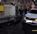 В Туле перевернулся автомобиль городской службы спасения