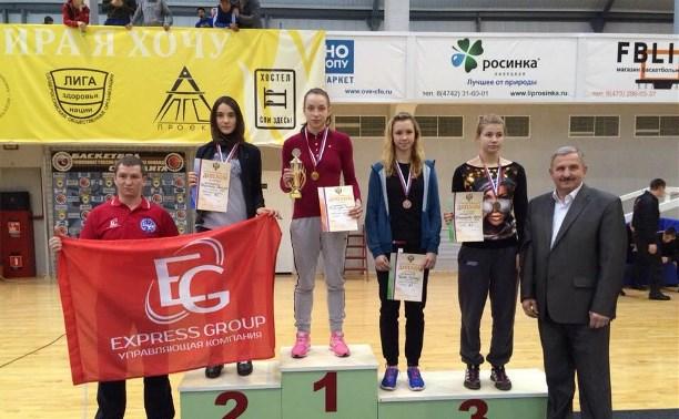 Тульские спортсменки завоевали медали на Кубке России по кикбоксингу