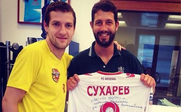 Сергей Сухарев вернётся в «Арсенал» после лечения