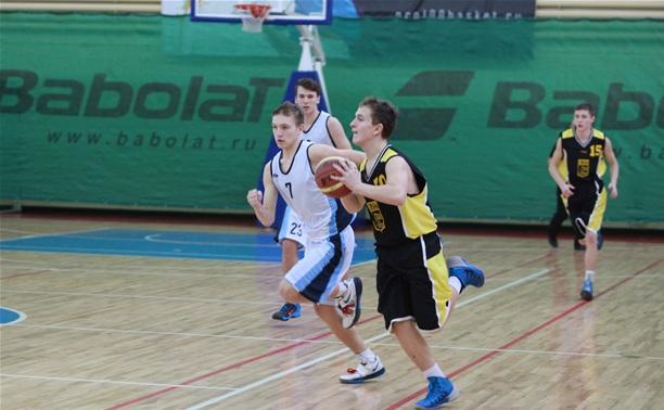 В Туле юные баскетболисты разыграли призы Центрального района