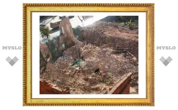 В Туле разрушают исторические памятники