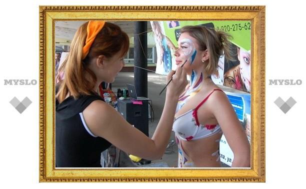 Сегодня в Туле состоится «битва» художников боди-арта