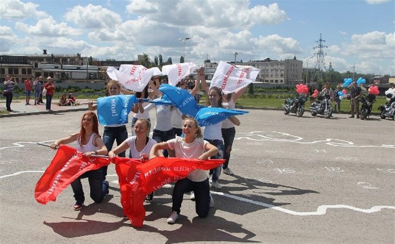 Тульские видеографы сняли ролик про флешмоб «Россия. Тула. Молодёжь»
