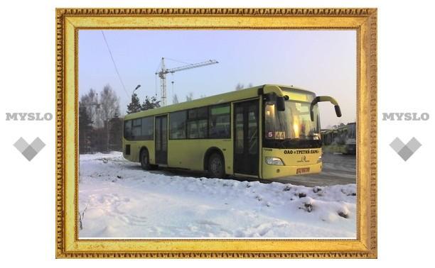 Автобусы Тулы оборудуют ремнями безопасности