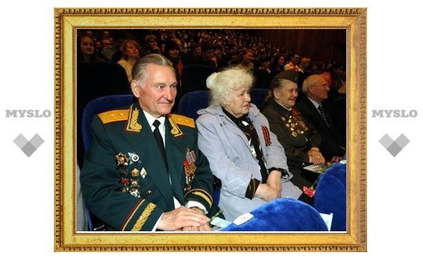 В Пролетарском районе поздравили ветеранов