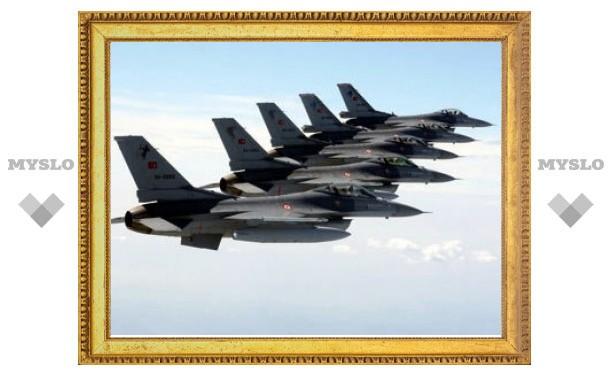 Турецкие ВВС разбомбили 28 баз курдов в Ираке