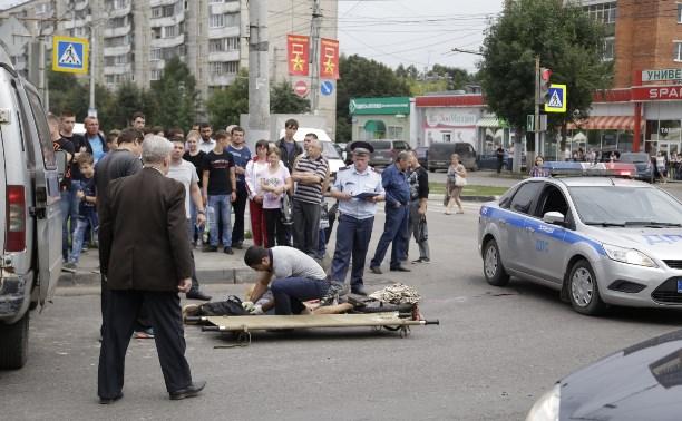 На «Лагуне» КамАЗ насмерть сбил велосипедистку