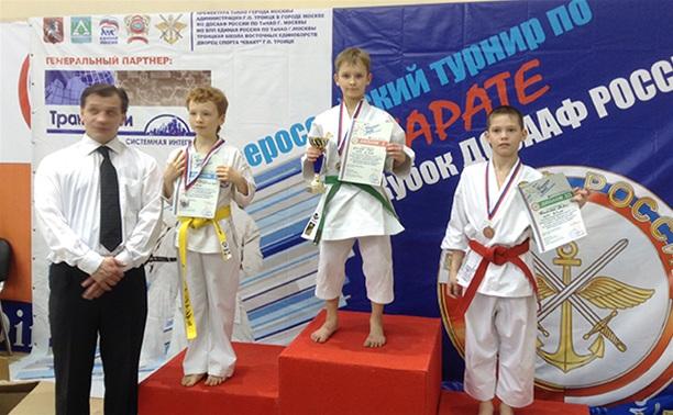 Тульские каратисты успешно выступили в «Кубке ДОСААФ России»