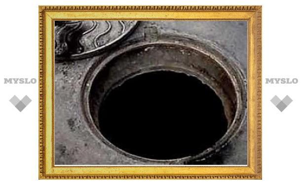 Под Тулой работник погиб в канализационном люке