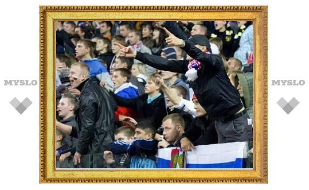 После поражения сборной России 67 болельщиков попали в милицию