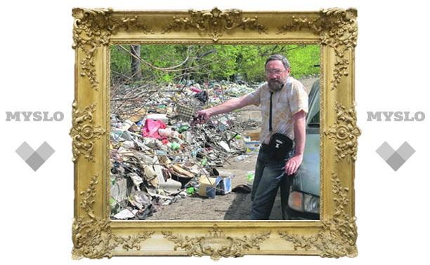 Почему Тула утопает в мусоре