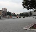 В Туле пока уложено 20 тысяч квадратных метров тротуарной плитки
