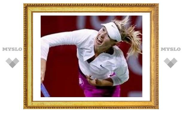 Шарапова выиграла российский финал в Дохе