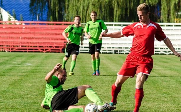В чемпионате Тульской области по футболу сохраняется интрига