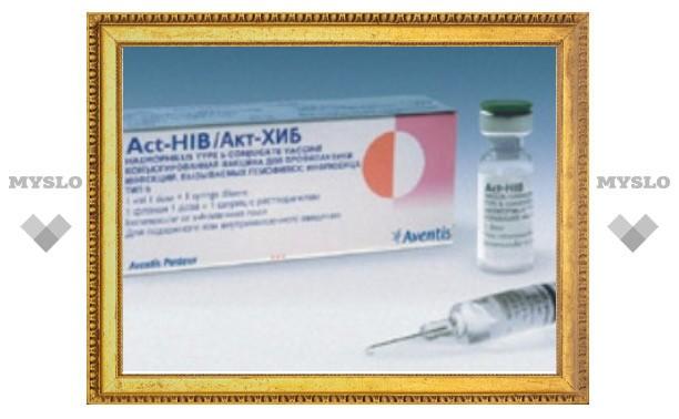Вакцина против гемофильной инфекции войдет в национальный календарь прививок с 2011 года