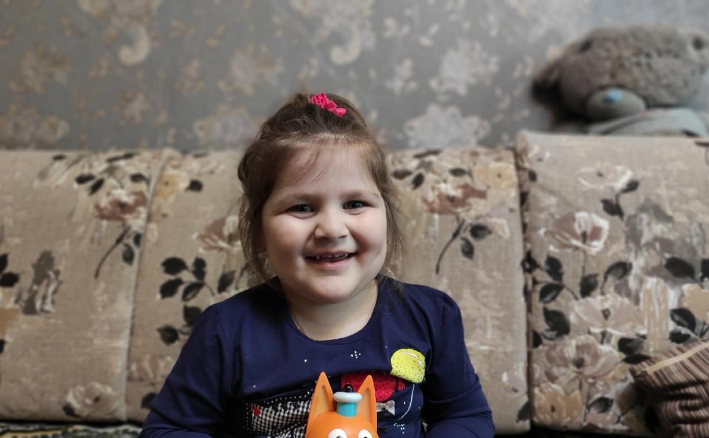 Малышке Ангелине требуются деньги на реабилитацию