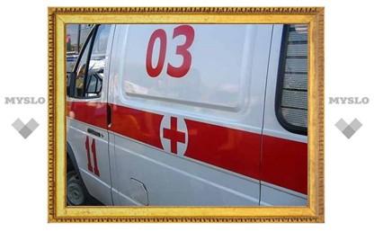 В Туле 2-летняя девочка выпала с четвертого этажа