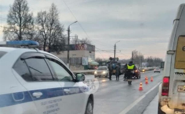 Наезд на пешехода в Туле: мужчина переходил дорогу в неположенном месте