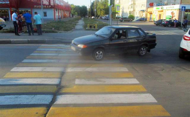 В Тульской области женщину сбили на пешеходном переходе