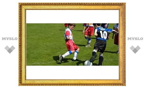 Юных туляков приглашают на футбол