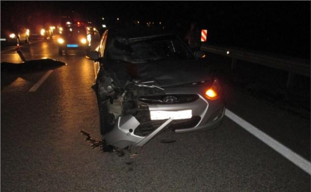 На трассе «Дон» «Хёндэ Солярис» насмерть сбил пешехода