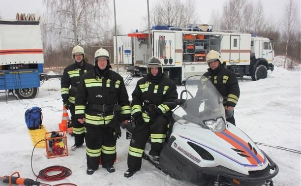 Тульские спасатели приняли участие во Всероссийской тренировке МЧС