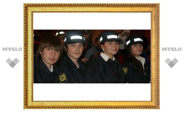 Клуб юных инспекторов отметил юбилей