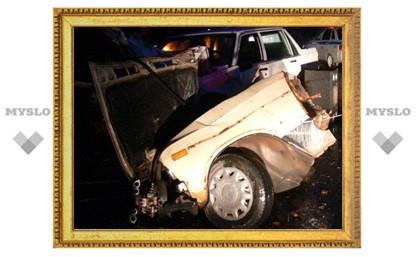 В Туле иномарка разорвала «Жигули»