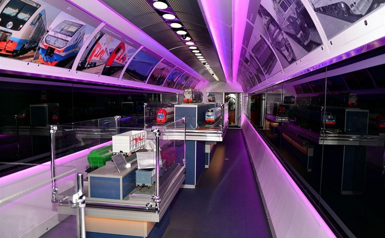 В Тулу прибудет поезд-музей