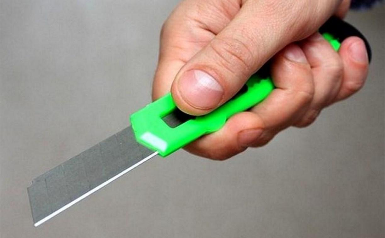Пьяный житель Донского угрожал прохожим канцелярским ножом