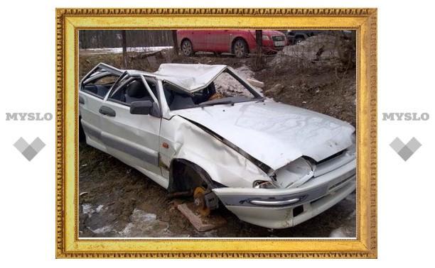 В Туле нашли машину, по которой словно каток проехал