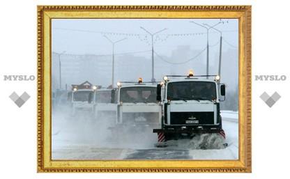 Грипп мешает работам по уборке города от снега