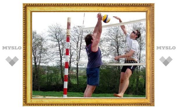 В Тульской области выявляют лучших пляжных волейболистов