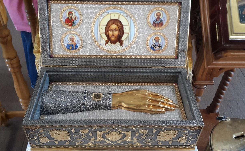В Тульскую область 7 мая доставят мощи святых