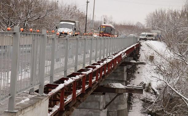 Ремонт черметовского моста в Туле завершат только летом 2017 года