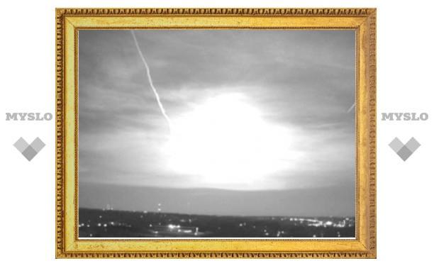 Жители пяти американских штатов увидели в небе метеорит