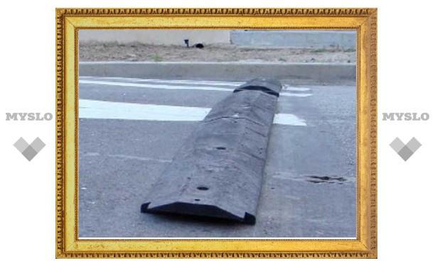 """Нелегальные """"лежачие полицейские"""" уберут в Москве до 1 сентября"""
