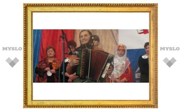 Тульские гармонисты уехали в Белгород