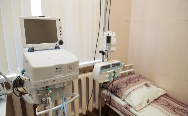 В Тульской области скончались пятеро пациентов с COVID-19
