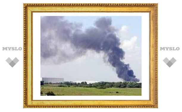 Зону оцепления вокруг горящего британского завода увеличили вдвое