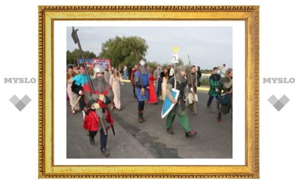 Костюмы тульских рыцарей признали лучшими